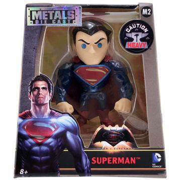 """Batman v Superman Superman Metal Die Cast 4"""" Action Figure"""