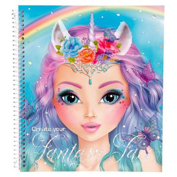Create Your Fantasy Face Colouring Book