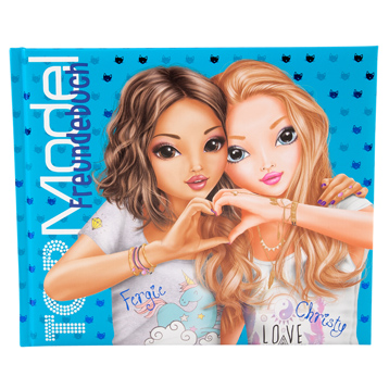 TOPModel Friendship Book (Blue)