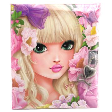 TOPModel Jenny Lockable Diary Journal