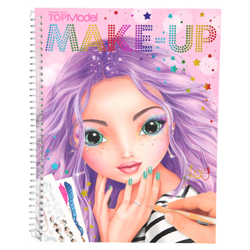 Make-Up Colouring Book
