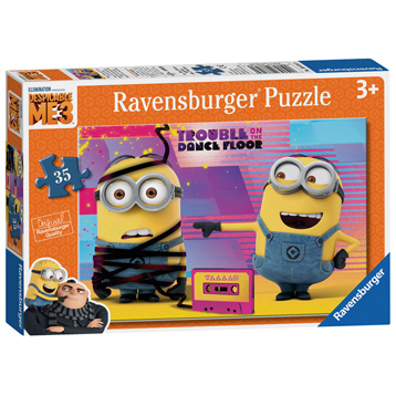 Trouble on the Dance Floor Minion Jigsaw Puzzle (35 Piece)