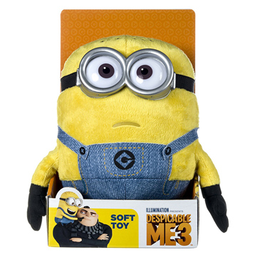 Despicable Me Jerry Soft Toy