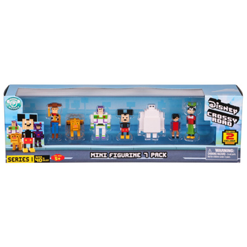Crossy Road Mini Figure (7 Pack) (Series 1)