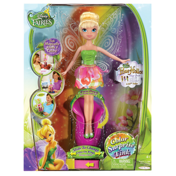 Fashion Fairies Colour Surprise Tink