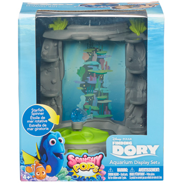 Squishy Pops Aquarium Display Set