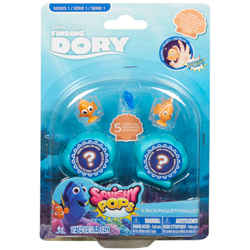 Squishy Pops 5 Pack (Series 1)