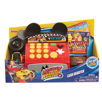 Mickey & The Roadster Racers Cash Register