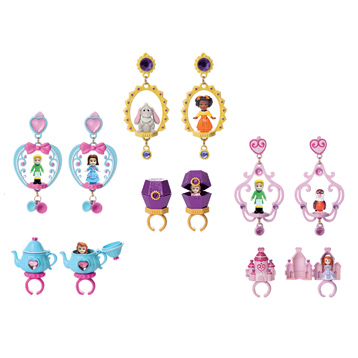 Disney Sofia The First Ring and Earring Set