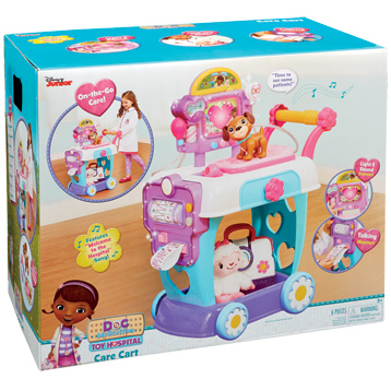 Toy Hospital Care Cart Playset