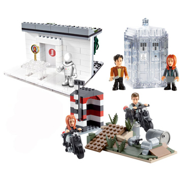 Dr Who Mini Playsets