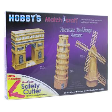 Dutch Windmill Matchstick Model