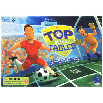 Top of the Tables Times Tables Game