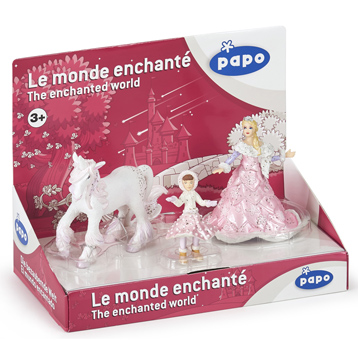 Enchanted World Ice Queen Pink Collectors Box Set