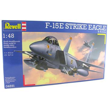 F15E Strike Eagle & Bombs (Scale 1:48)