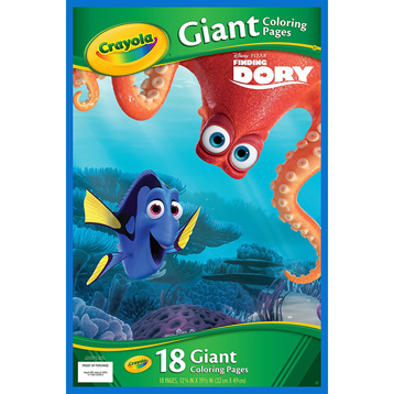 Finding Dory Giant Colouring Pages