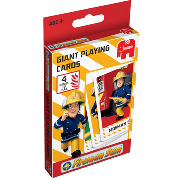 Fireman Sam Giant Playing Cards