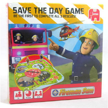 Fireman Sam Save the Day Game