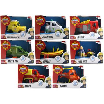 Fireman Sam Vehicles (SEE THROUGH BOXES)