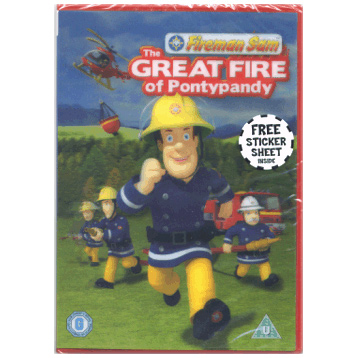 Fireman Sam Great Fire of Pontypandy DVD