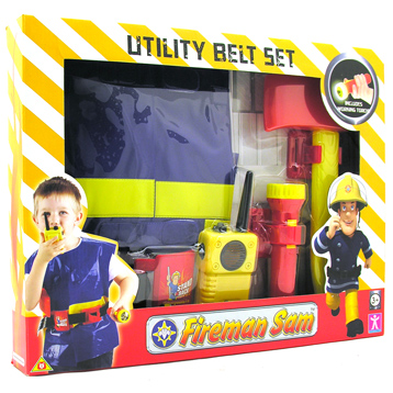 Fireman Sam Utility Belt with Jacket