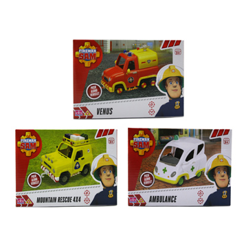 Fireman Vehicles BOXED
