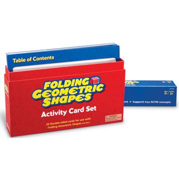 Folding Geometric Shapes Activity Cards