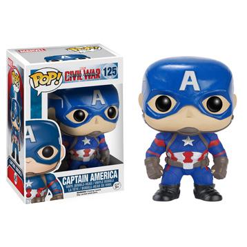 Captain America Civil War Captain America Vinyl Bobblehead
