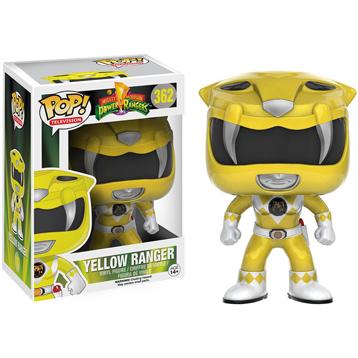 Power Rangers Mighty Morphin' Yellow Ranger Vinyl Figure