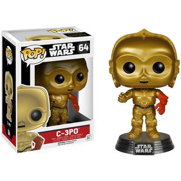 Star Wars The Force Awakens C-3PO Vinyl Bobblehead
