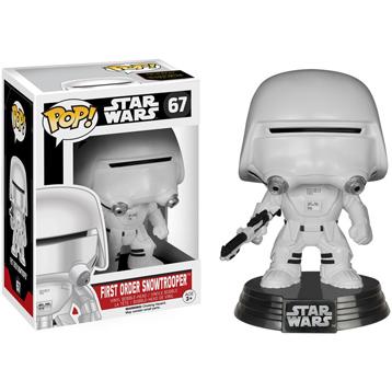 Star Wars The Force Awakens First Order Snowtrooper Vinyl Bobblehead