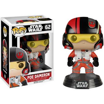 Star Wars The Force Awakens Poe Dameron Vinyl Bobblehead