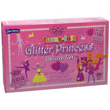 Fuzzy-Felt Glitter Princess