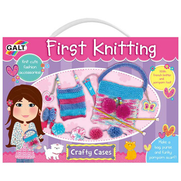 Crafty Cases First Knitting Set