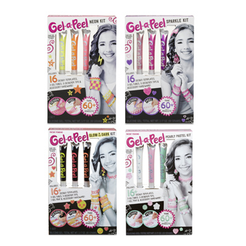 Gel-A-Peel Accessory 3 Pack Kit Assorted