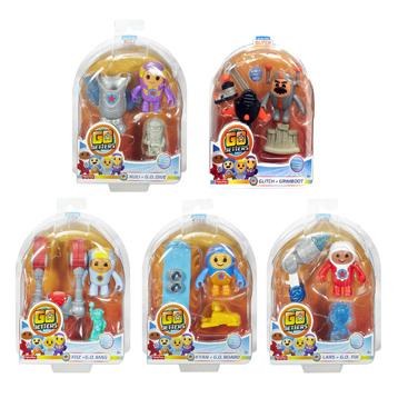 Go Jetters G.O Action Figures Assorted