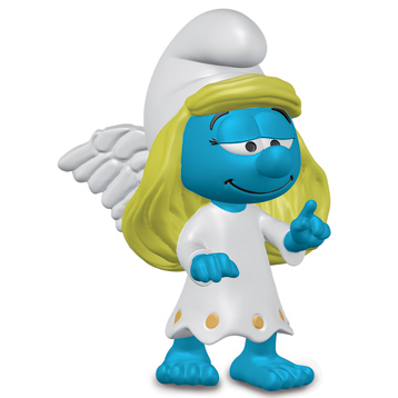 Guardian Angel Smurfette