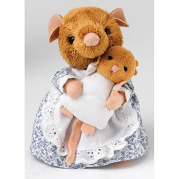 Beatrix Potter Hunka Munca & Baby Plush