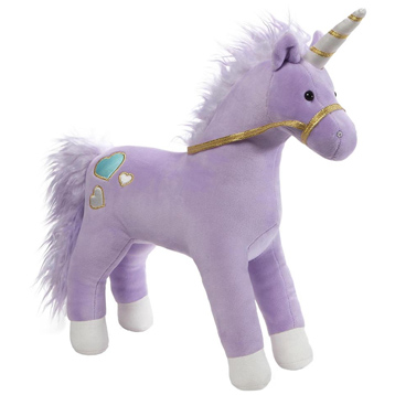 Bluebell the Purple Unicorn Soft Toy