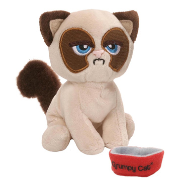Box O Grump Everyday Grumpy Cat Plush