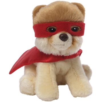 Itty Bitty Boo Superhero Plush