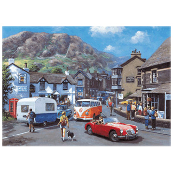 Happy Days, Lake District 1000 Piece