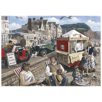 Happy Days, Sidmouth 1000 Piece