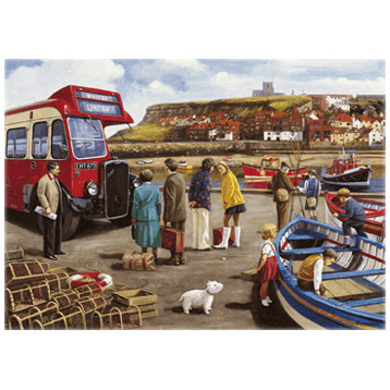 Happy Days, Whitby 1000 Piece