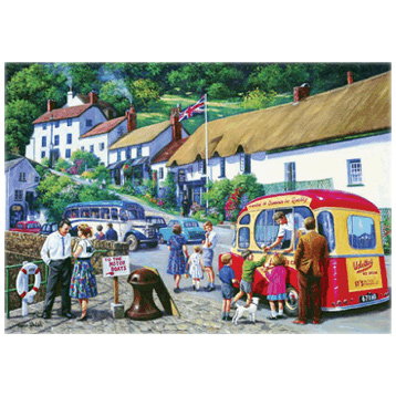 Happy Days, Lynmouth 1000 Piece