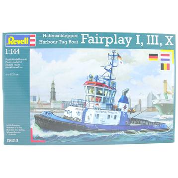 Harbour Tug Boat Fairplay I, III, X (Scale 1:144)
