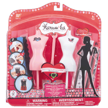 Harumika Designer Dress Form Set