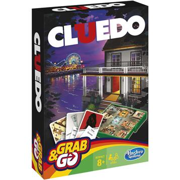 Hasbro Gaming Grab & Go Cluedo