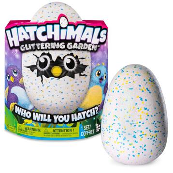 Glittering Garden Draggle Egg