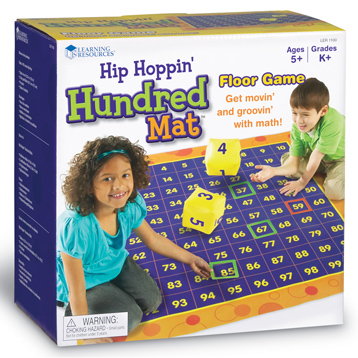 Hip Hoppin Hundred Mat